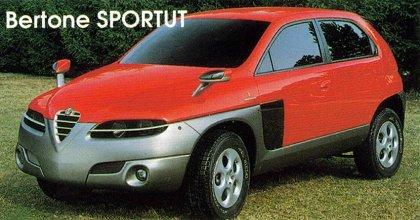 """[Concepts] Les """"vieux"""" concepts ! - Page 18 1997_Bertone_Alfa-Romeo_Sportut_01"""
