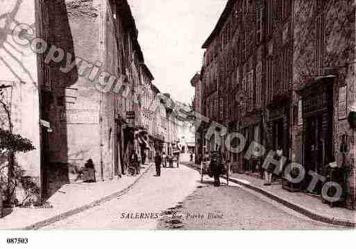 Villes et villages en cartes postales anciennes .. Photos-carte-salernes-var-PH061811-A
