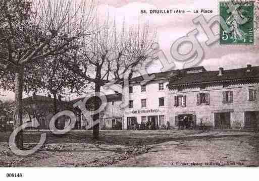 Villes et villages en cartes postales anciennes .. - Page 33 Photos-carte-druillat-ain-PH013744-A