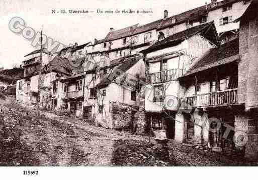 Villes et villages en cartes postales anciennes .. Photos-carte-uzerche-correze-PH018050-D