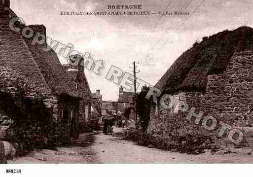 Villes et villages en cartes postales anciennes .. Photos-carte-kertugal-cotes-darmor-PH004857-A