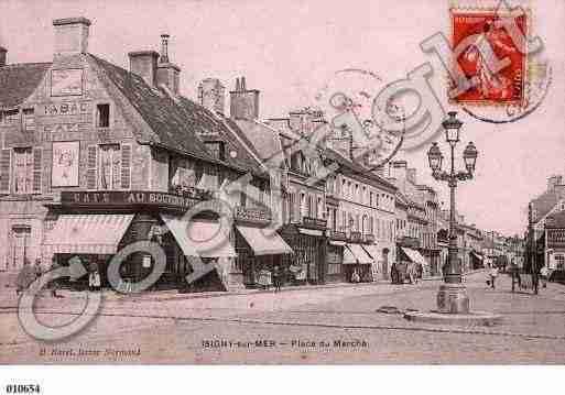 Villes et villages en cartes postales anciennes .. Photos-carte-isigny-sur-mer-calvados-PH015665-D