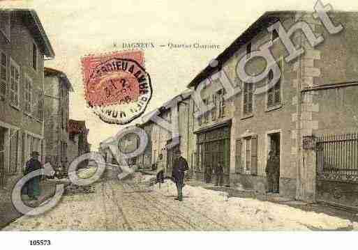 Villes et villages en cartes postales anciennes .. - Page 2 Photos-carte-dagneux-ain-PH013766-A