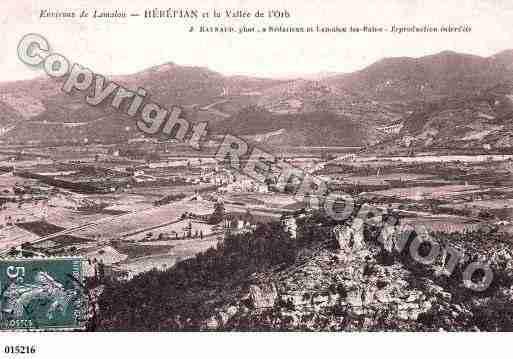 Villes et villages en cartes postales anciennes .. - Page 13 Photos-carte-herepian-herault-PH025571-F
