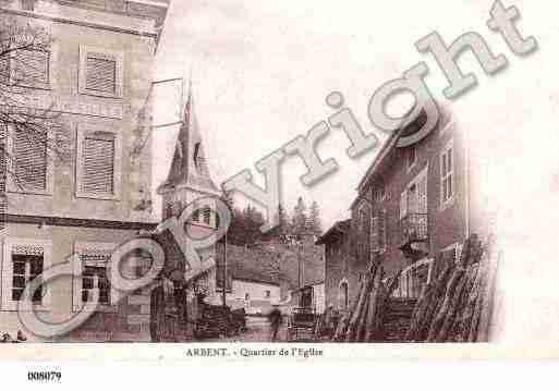 Villes et villages en cartes postales anciennes .. Photos-carte-arbent-ain-PH013972-B