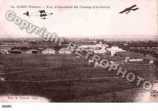 Villes et villages en cartes postales anciennes .. - Page 35 Photos-carte-bron-rhone-PH051079-C