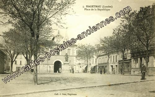 Cartes postales ville,villagescpa par odre alphabétique. - Page 10 40119_Hagetmau_0005_PACS_