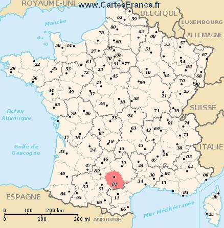 LE BON NUMERO - Page 6 Carte-departement-Tarn