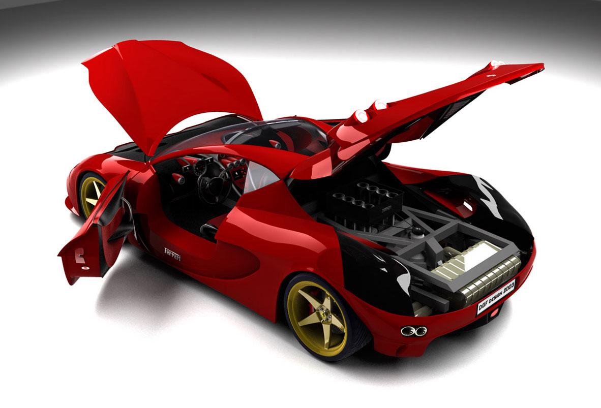 صور سيارات فرارى Ferrari-aurea_doorsopen1