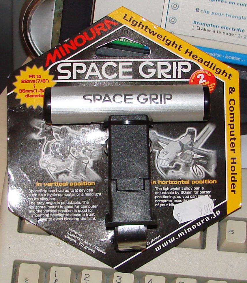 Indispensable au Brompton ........ le Space Grip 061214053248246947