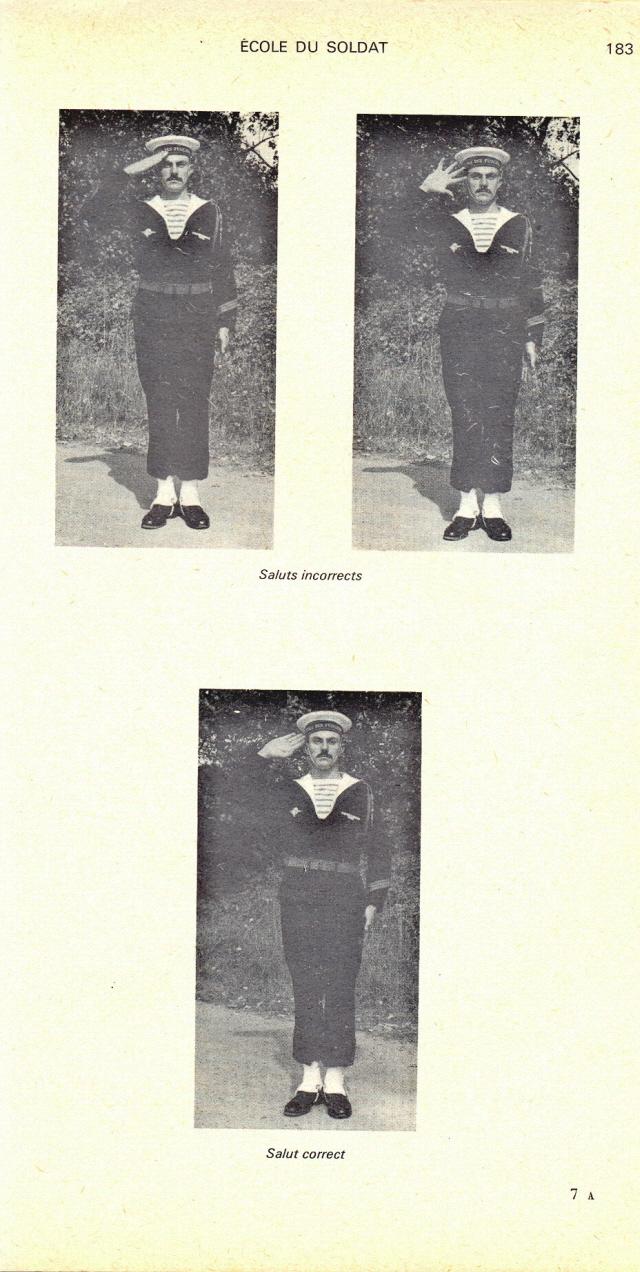 [Les traditions dans la Marine] Le salut militaire - Page 2 070123104844296161