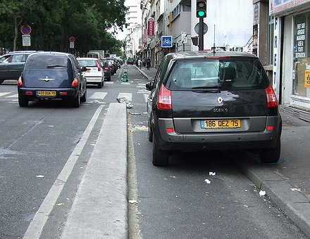 Les PV tombent dru sur les vélos à Paris... 07083106571926401127109
