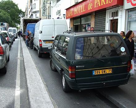 Les PV tombent dru sur les vélos à Paris... 07091108534526401210571