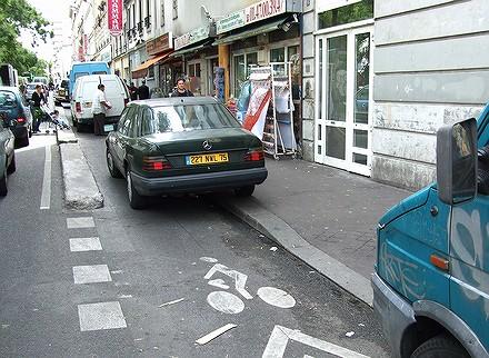 Les PV tombent dru sur les vélos à Paris... 07091108540826401210576