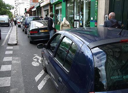 Les PV tombent dru sur les vélos à Paris... 07091108545726401210593