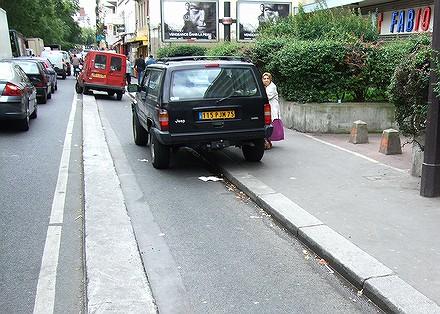 Les PV tombent dru sur les vélos à Paris... 07091108551726401210601