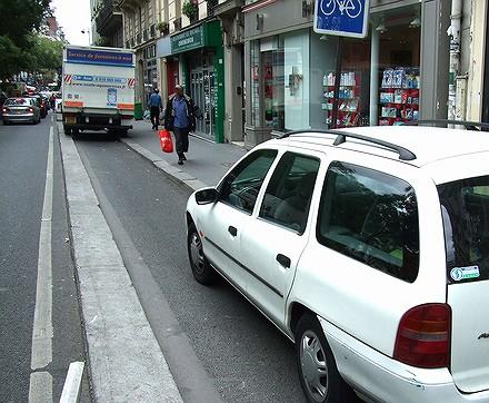 Les PV tombent dru sur les vélos à Paris... 07091108560126401210615