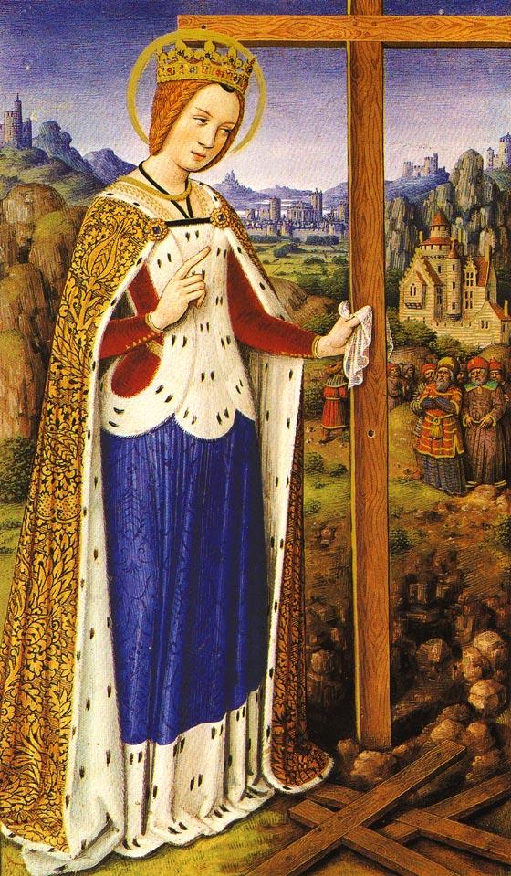 La Vraie Croix de Jésus découverte par Sainte Hélène mère de Constantin 410