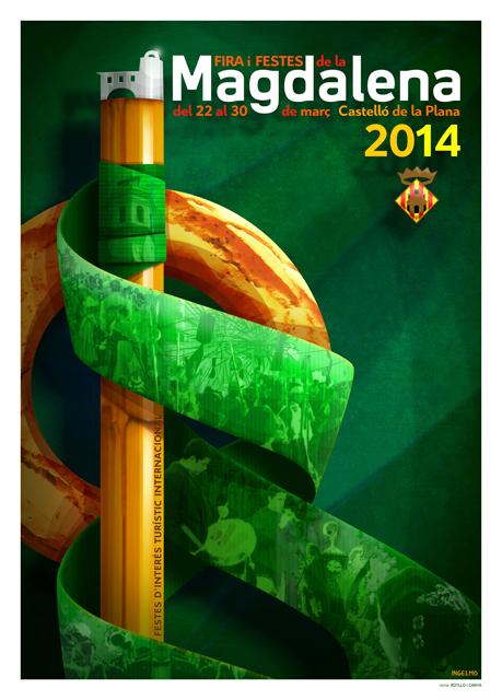 Festes de La Magdalena 2014 ROTLLO-I-CANYA2014