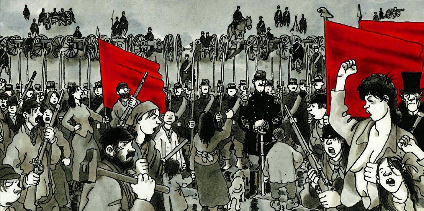La commune de Paris 1871 FRANCE5 Lundi histoire Archive-Interview-Tardi-raconte-Le-Cri-du-peuple