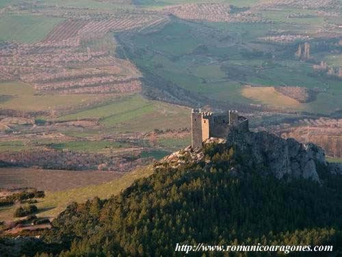 El Castillo de Loarre - Huesca LoarreArcaico1
