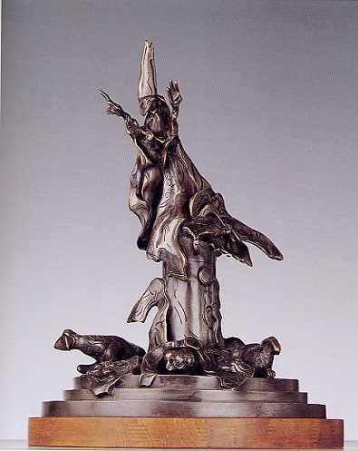 """""""SEDE VACANTE"""" del R.P. Joaquín Sáenz y Arriaga - Page 7 Monumento-satanista"""