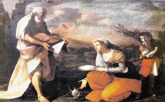 Citations des Pères de l'Eglise concernant l'AUMÔNE et la CHARITÉ (en espagnol) Viuda-sarepta