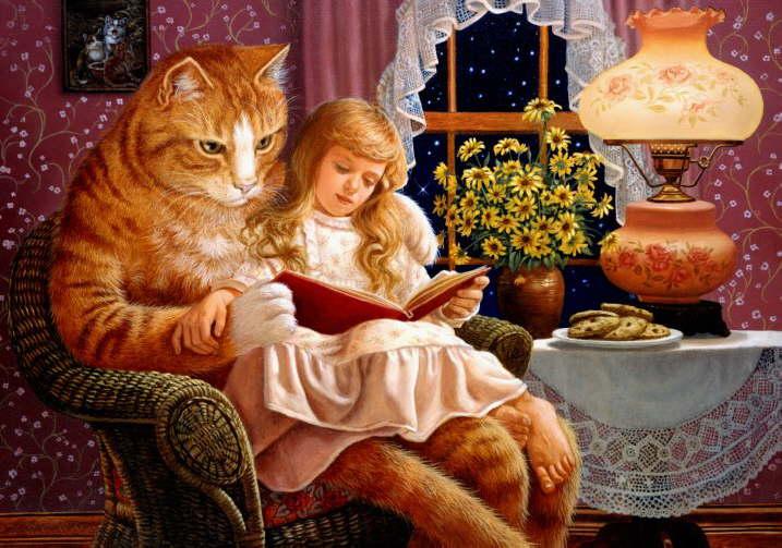 Najlepse bajke za malu i veliku decu Db_Ruth_Sanderson_Home_is_Where_the_Cat_Is1
