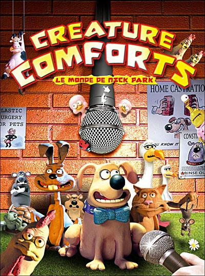 Série - CREATURE COMFORT - 2006 - Creaturecomforts_dvdfr