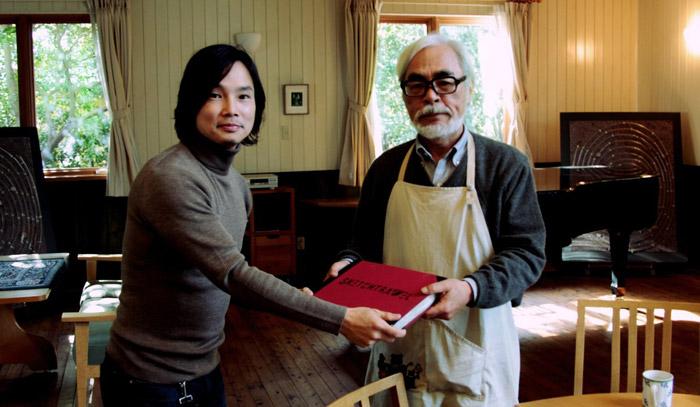 Un peu de pub pour un projet qui vos le coup d'oeil Sketchtravel_miyazaki