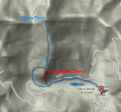 Oropa, monte Tovo, Ferrata Nito Staich Maps_staich