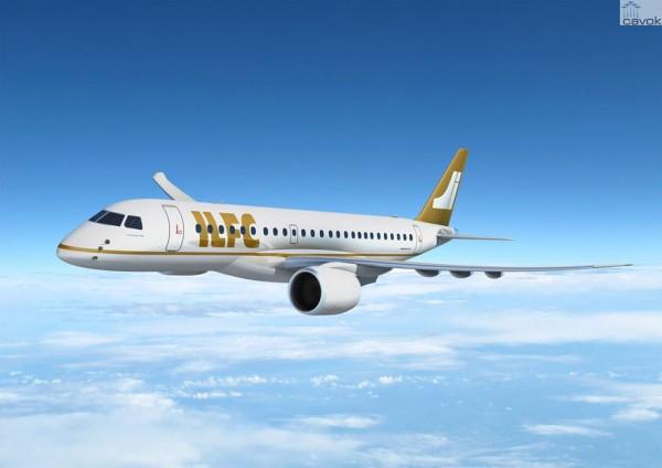 embraer - [Brasil] ILFC assina acordo final para até 100 E-Jets E2, da Embraer 1_ILFC_E190-E2_low-600x424