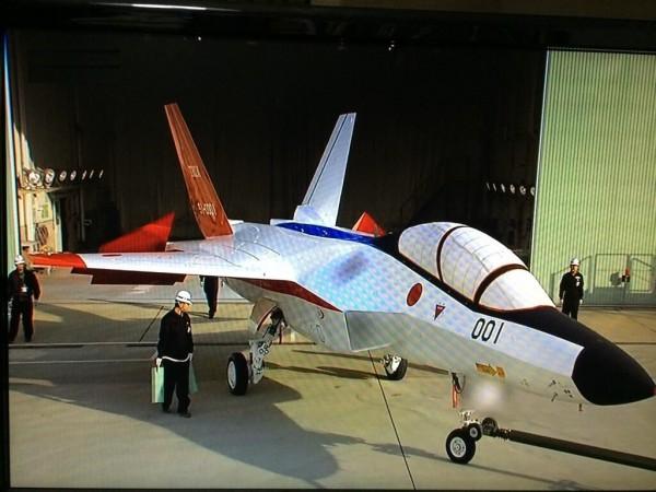Mitsubishi ATD-X Shinshin ( prototipo de avión de combate de quinta generación ) ATD-X-first-prototype-600x450