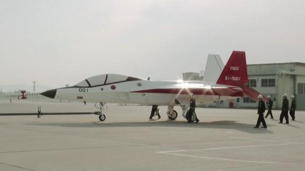 Mitsubishi ATD-X Shinshin ( prototipo de avión de combate de quinta generación ) ATD-X-in-Nagoya-600x338