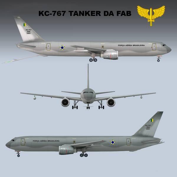Reanudación de las negociaciones para finalizar el contrato de conversión para los buques tanque de FAB. KC-767-Flavio-Cardia-600x600