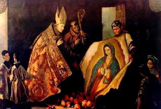 La vierge de Guadalupe JuanDiegoVirginGuadalupe
