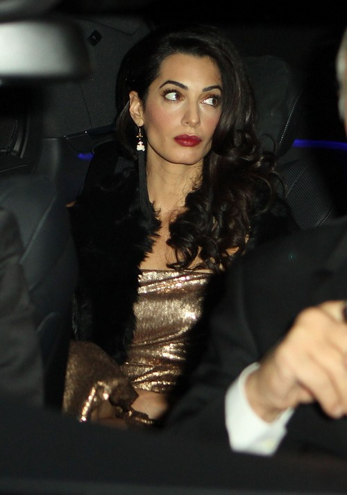 Enquirer item: Battle over George Clooney - Amal Clooney/Cindy Crawford Fight Amal-alamuddin-22