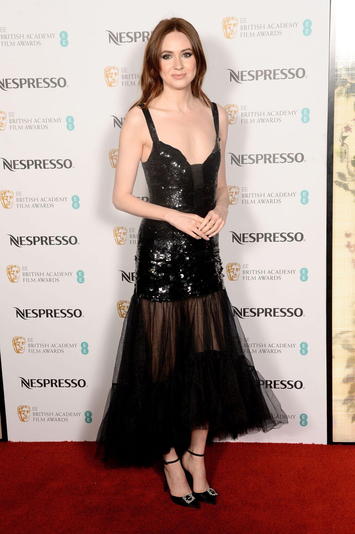 ¿Cuánto mide Karen Gillan? - Real height Karen-gillan-at-ee-british-academy-film-awards-nominees-party-in-london-11