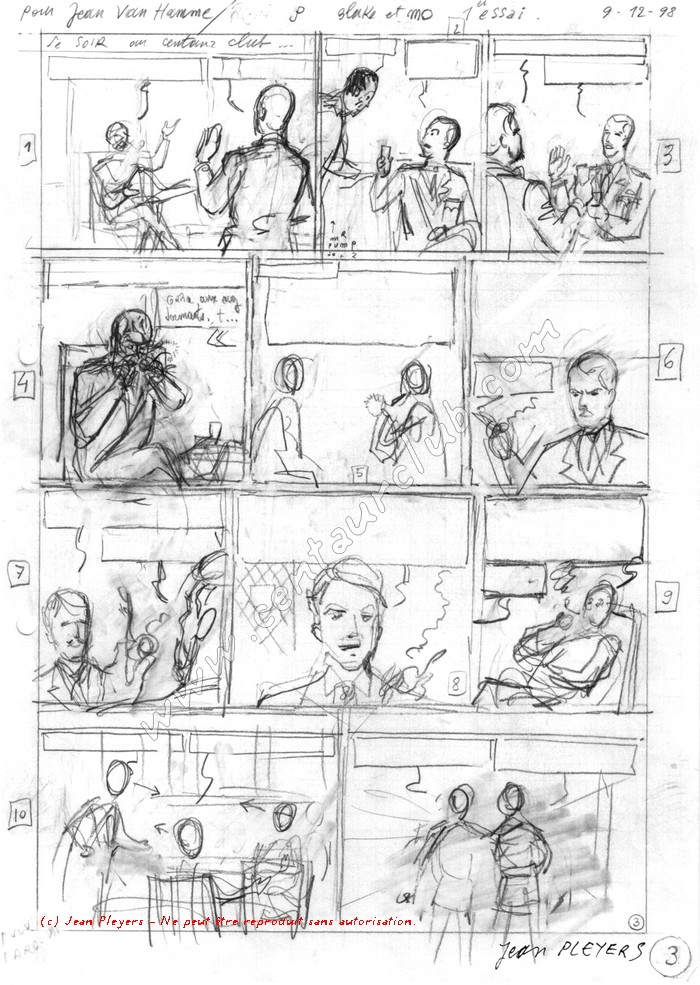 Pleyers dessinant Blake et Mortimer BM-Pleyers-test-a-rought