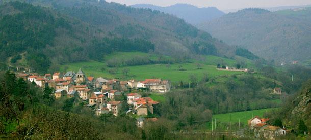 Tour du Cantal 2009 VUE-AURIAC610