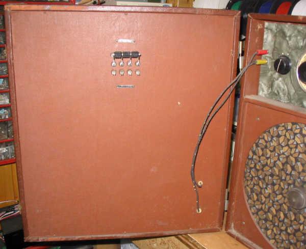 Recepteur portatif 4 lampes sans marque - Etat des lieux PG_DB93