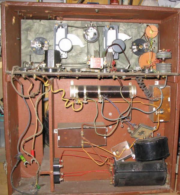 Recepteur portatif 4 lampes sans marque - Etat des lieux PG_DB94