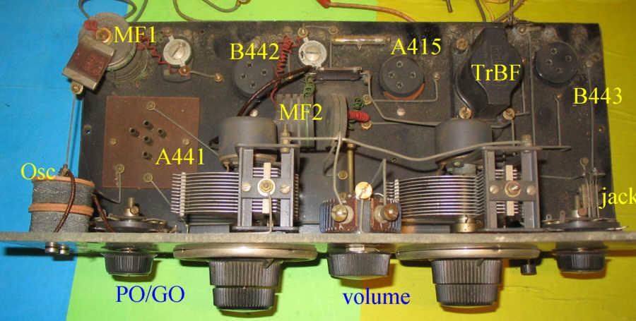 Recepteur portatif 4 lampes sans marque - Etat des lieux PG_DC01
