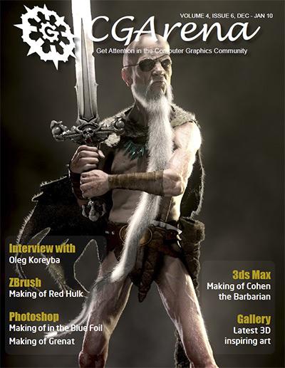 Animation magazine, ezine CGArena Dec - Jan 10 Issue Available Now Dec-jan10_issue