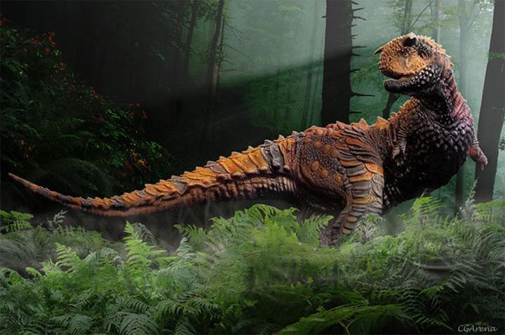 Modeling of the Dinosaur - part 04 12