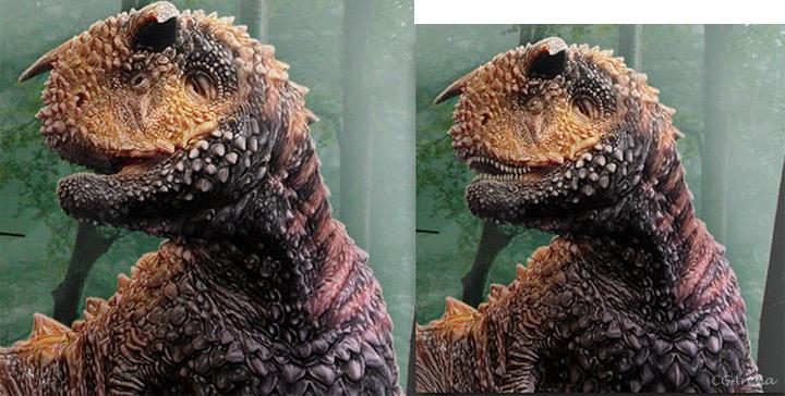 Modeling of the Dinosaur - part 04 Teeth