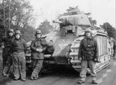 les tankistes alliés sur les fronts Ouest et Est Eure%2001