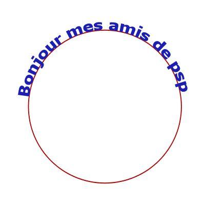 Ecrire en arc de cercle Cercle5