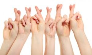 Concours J'ai Lu : Gagnez 3 exemplaires de Walking Disaster de Jamie McGuire ! Fingers-crossed-300x179
