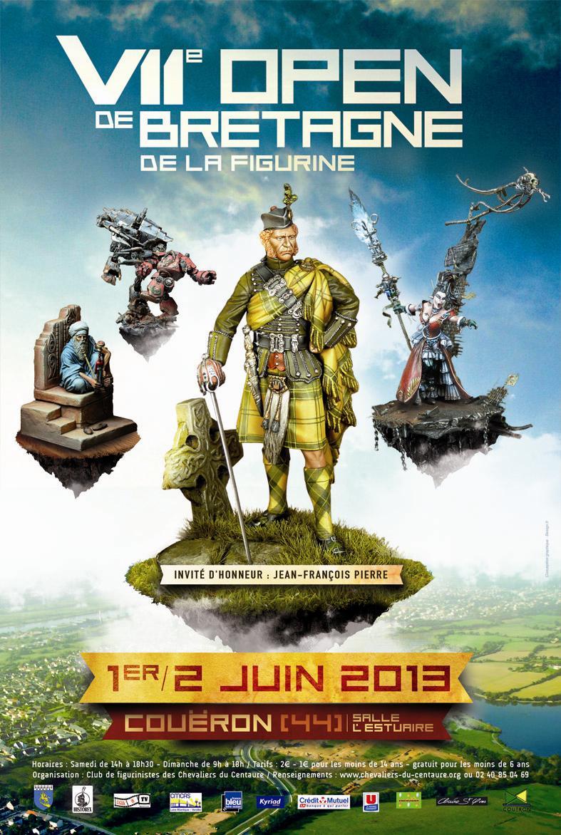 «Open de Bretagne de la figurine» 1-2 juin 2013 à Couëron (44) Affiche_Open_2013_J